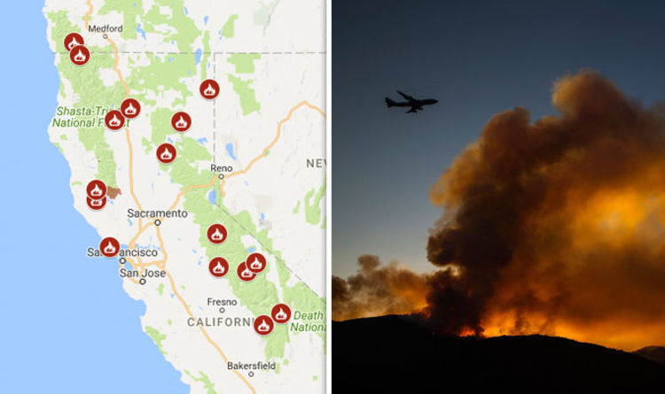 Fire Map In Southern California.Holy Fire Map Southern California Wildfire Grows To 10 200 Acres