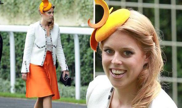 Princess Beatrice Eugenie Ascot Hat Fascinator Royals