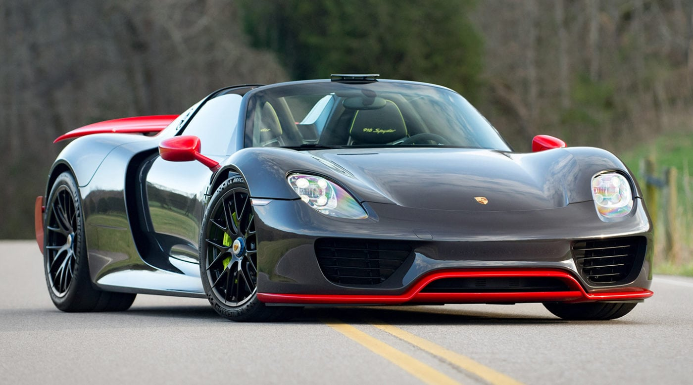 one-off paint-to-sample porsche 918 spyder weissach for sale