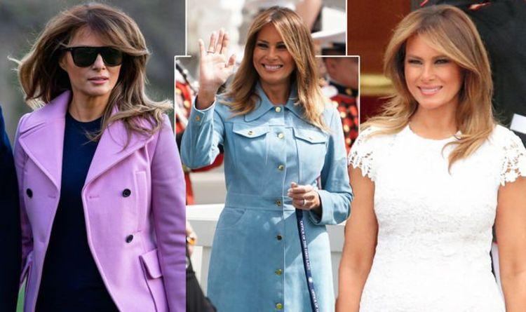 218129c2f Melania Trump: The shocking sum Donald Trump's wife has spent on her  wardrobe revealed