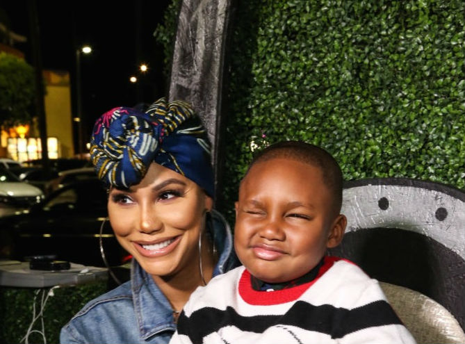 Tamar Braxton Shared Funny Post Of Son Before Possible Suicide Attempt