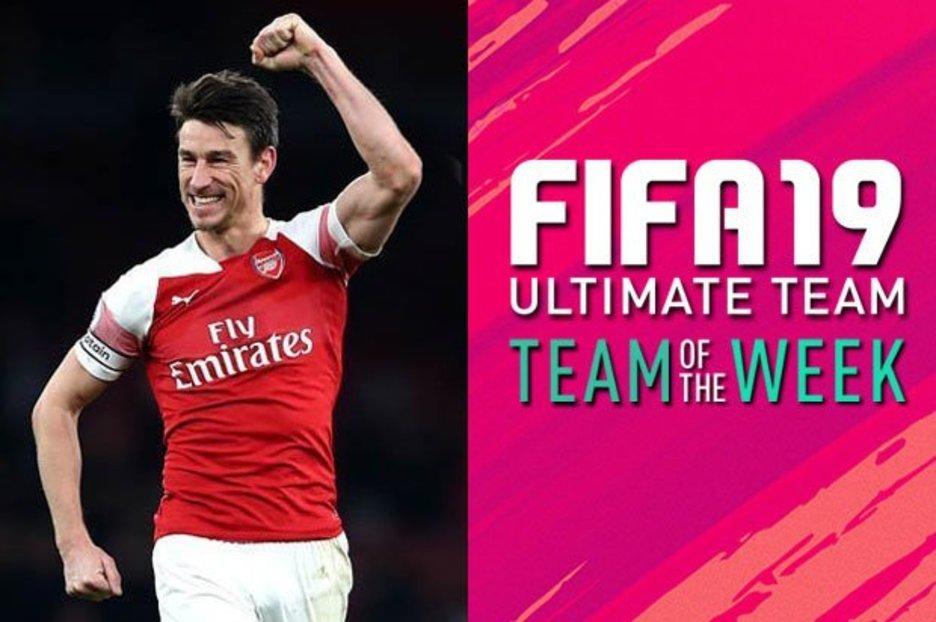 f842c675d FIFA 19 Team of the Week  Arsenal s Koscielny stars in new FIFA TOTW with  Mbappe   Modric