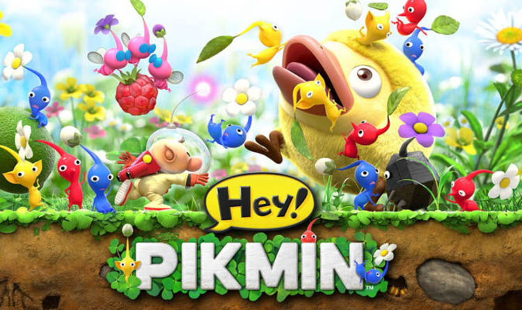 Hey Pikmin Review A Charming Platformer That S Easy To Pick Up And Play Gaming Entertainment Express Co Uk