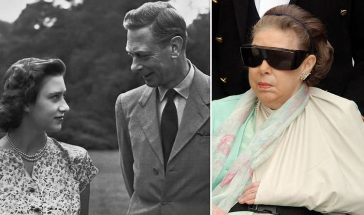 Princess Margaret Heartbreak How Young Princess Witnessed King S