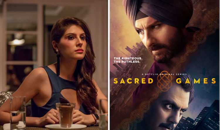 Sacred Games On Netflix Cast Who Is Zoya Mirza Actress Elnaaz