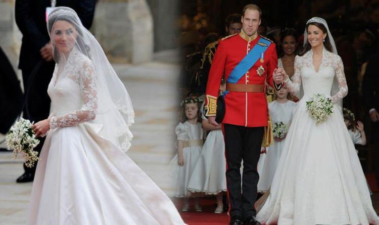 bbaf0a61db Kate Middleton 'ripple effect' - how Duchess of Cambridge's wedding dress  shaped future