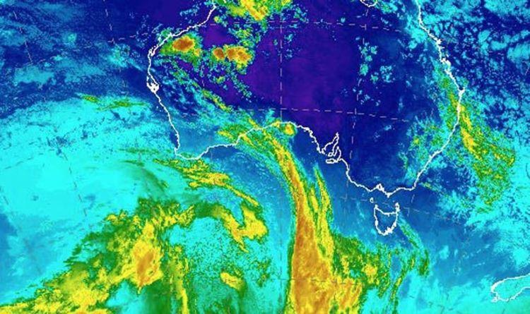 Weather Map Perth Perth weather radar: Perth AVOIDS heatwave as Western Australia