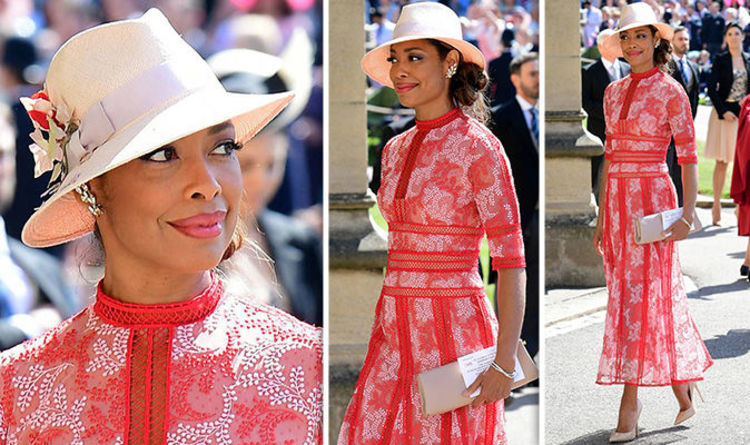 85c58f6f4 Gina Torres: Suits actress arrives at Royal Wedding 2018 to see co-star  Meghan Markle wed