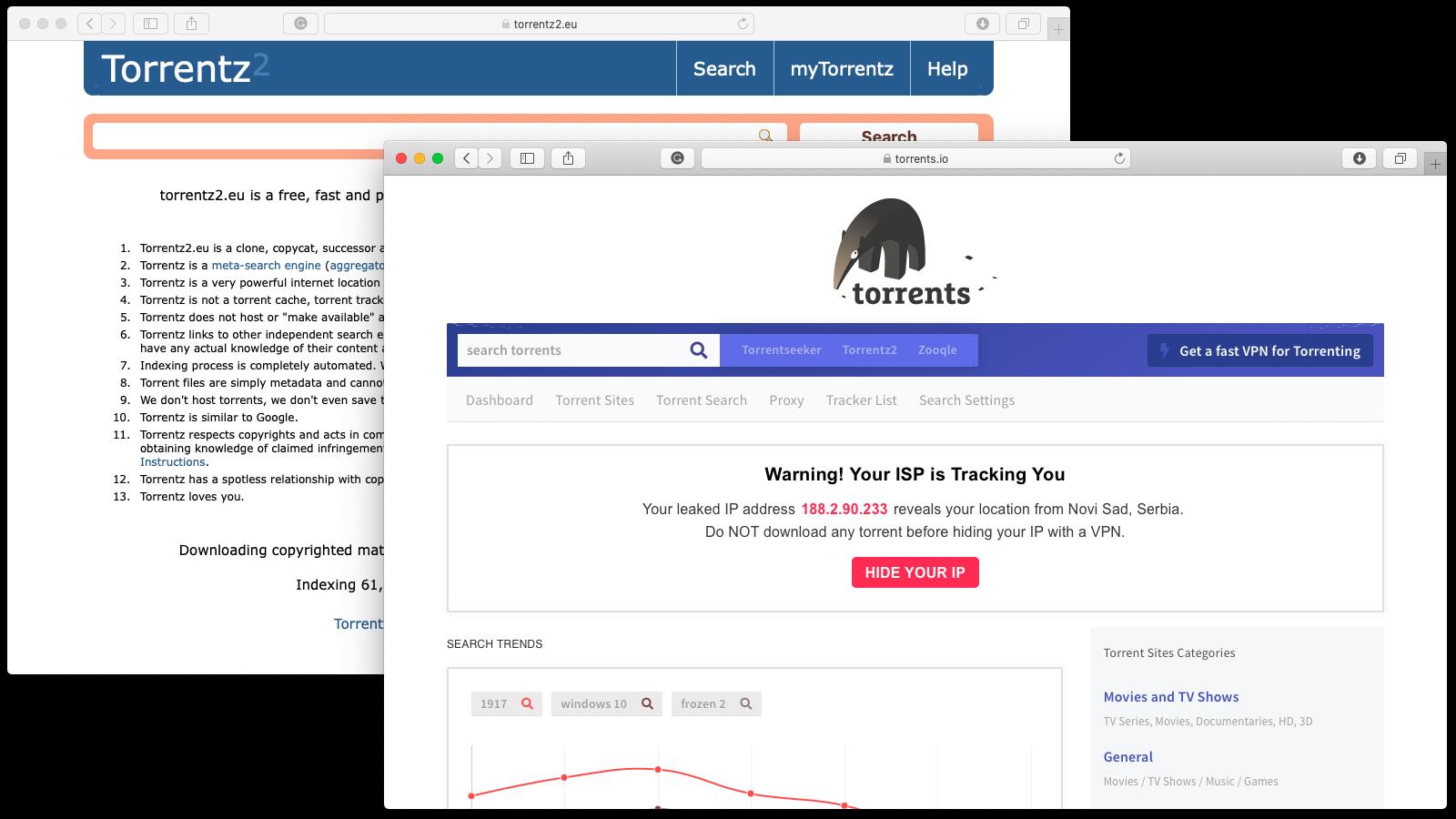 15 Best Torrent Search Engines Still Works In 2020