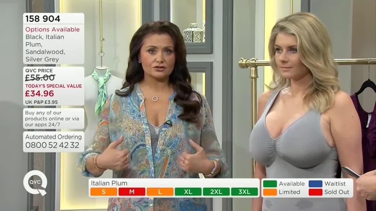 QVC lingerie models become internet SENSATION
