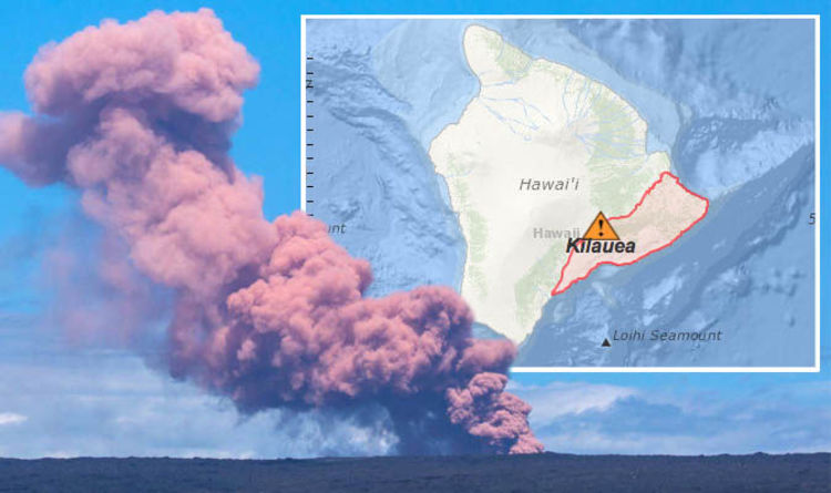 Hawaii volcano map where is the erupting kilauea volcano on big hawaii volcano map where is the erupting kilauea volcano on big island gumiabroncs Choice Image