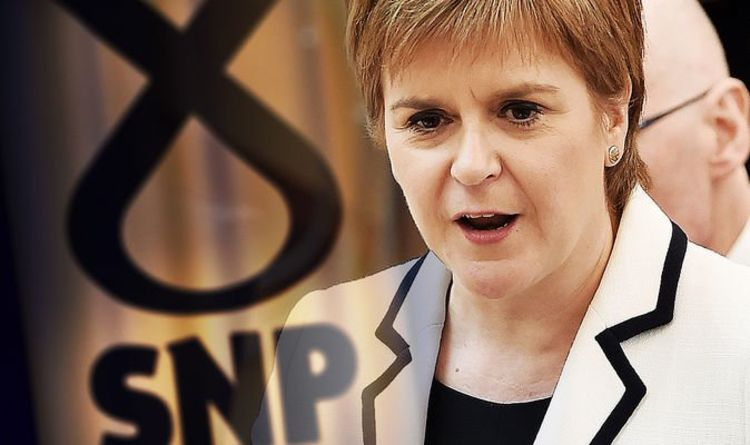 cb214e7c4c365 Sturgeon HUMILIATED: SNP leader slapped down by own party as she LOSES  Pound vote. NICOLA STURGEON has been ...