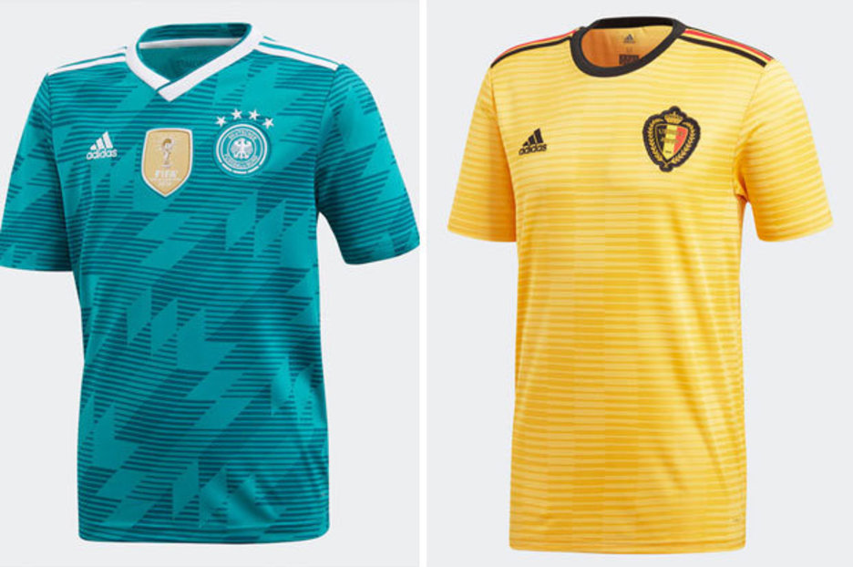 2a67f27d4 World Cup kits  See Adidas  away strips for Russia 2018 - including Germany  and Spain