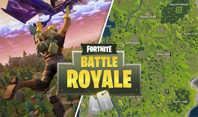 fortnite named locations week 9 challenge strategy solved gaming entertainment express co uk - fortnite vehicles list
