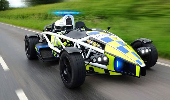 Ariel Atom Top Gear Avon And Somerset Police Motor Company Jeremy