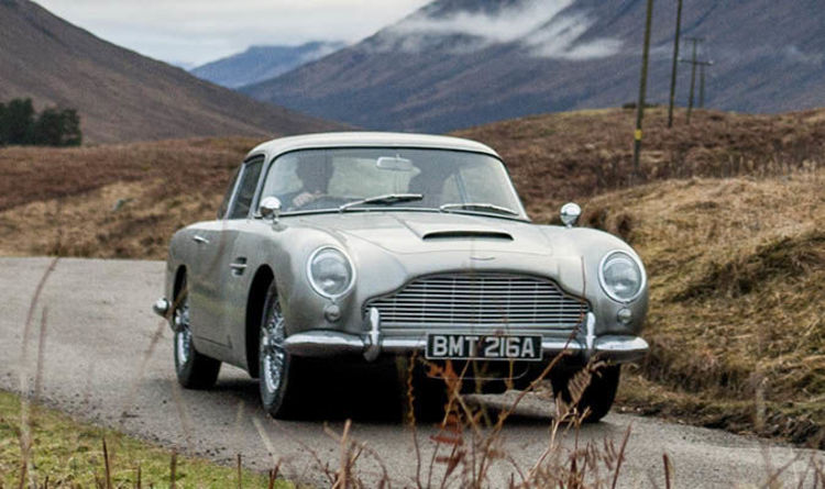 Aston Martin DB James Bond Goldfinger Spec Car Revealed Heres - Old aston martin for sale