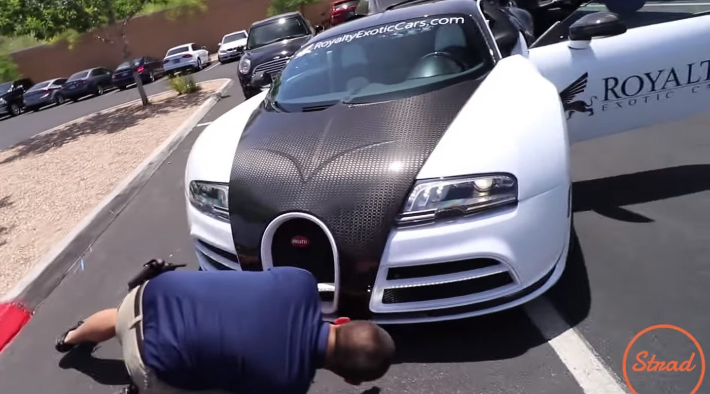 Carmax appraises bugatti veyron mansory for hilarious price