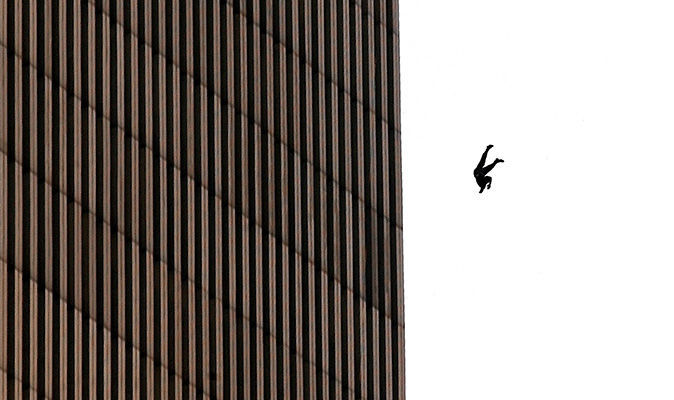 Who was 9/11 FALLING MAN? Mystery 15 years after Twin Tower attack