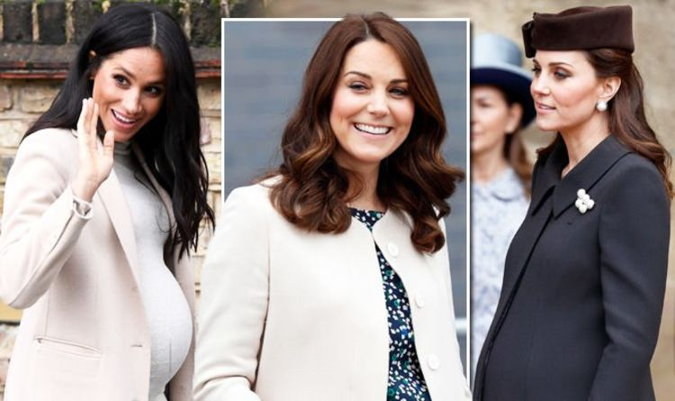 b5f5b7adfc1 Meghan Markle and Kate Middleton pregnancy style  Which Duchess kept it   classic