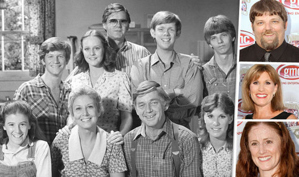waltons - Finding John Christmas Cast