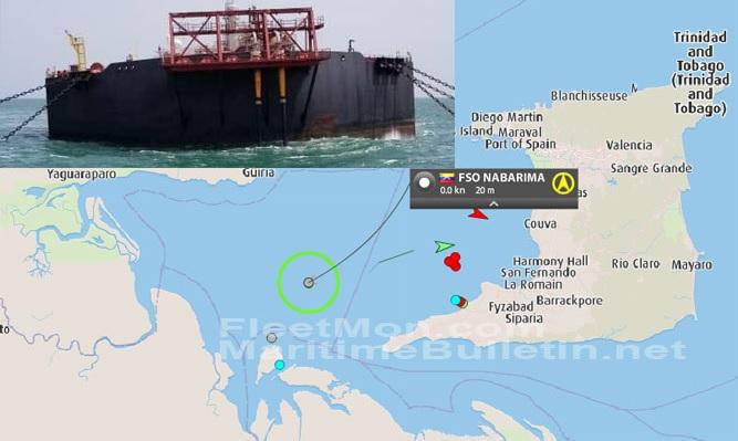 Trinidad y Tobago afirma seguir de cerca el caso del buque Nabarima -  LaPatilla.com