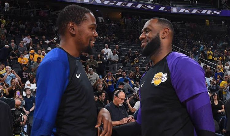 3cb65922762 LeBron James  Lakers owner Buss drops Kevin Durant hint