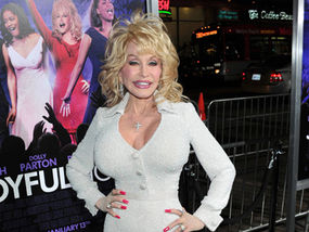 Are not Dolly parton shows her tits