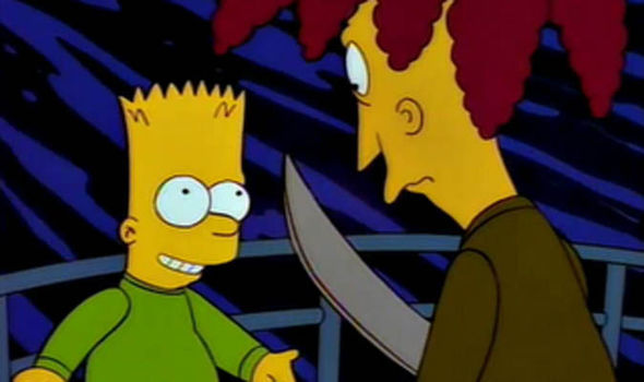 sideshow bob tries to kill bart simpsons