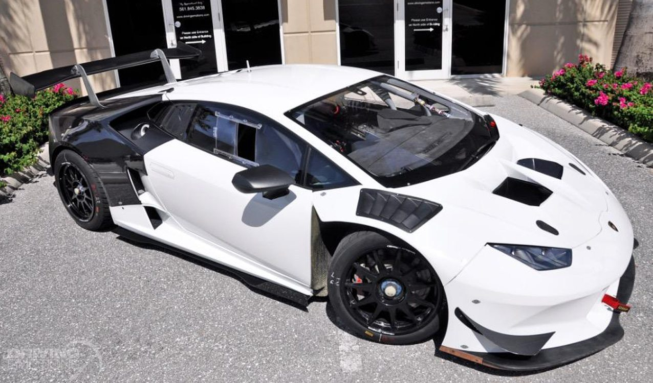 2015 Lamborghini Huracan Super Trofeo Race Car For Sale