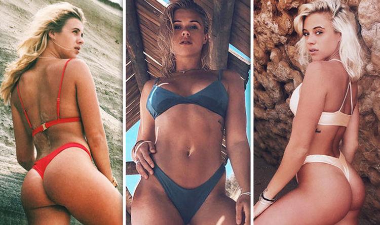 0e8105af8 Love Island 2018  Laura Crane flaunts eye-popping derriere in scantily-clad  bikini snaps
