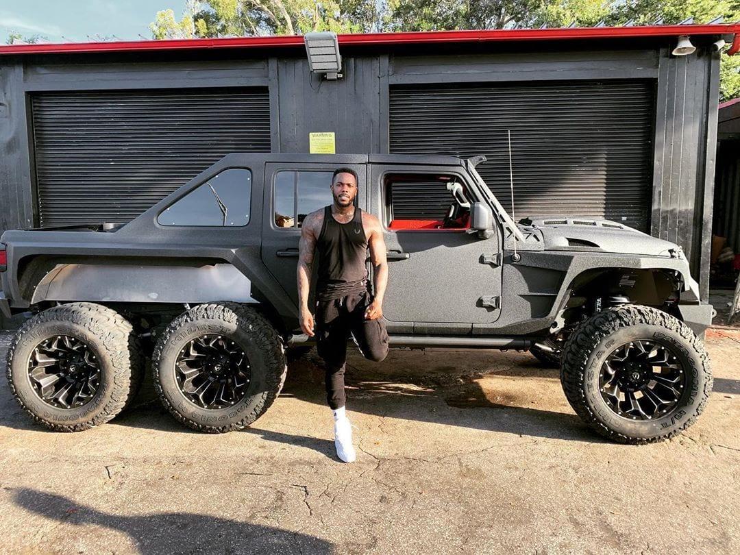 Yankees Pitcher Aroldis Chapman Just Bought An Insane 6x6 Jeep