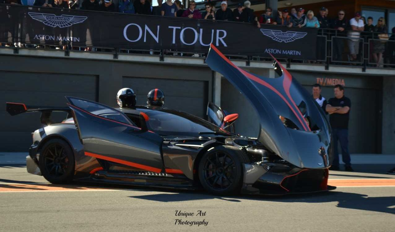 The Aston Martin Vulcan On The Track In New Zealand