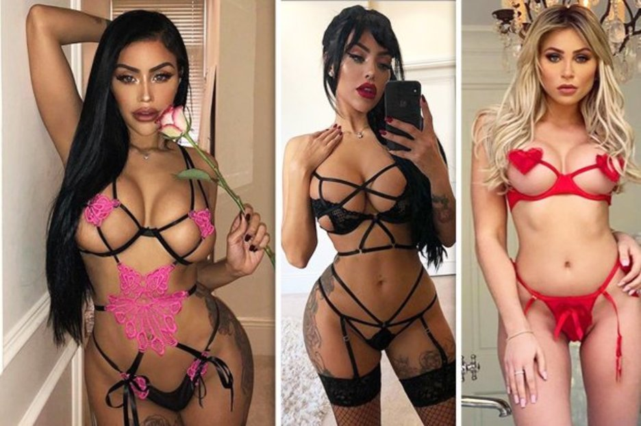 c4642d47e9 Instagram babes go WILD for Fashion Nova s naked bra trend