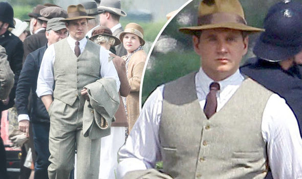 downton abbey season 6 tom branson returns in new pictures from set