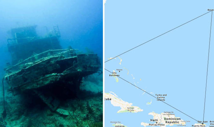 Map Of Bermuda Triangle Bermuda Triangle MAP: Where is the Bermuda Triangle? Why is it