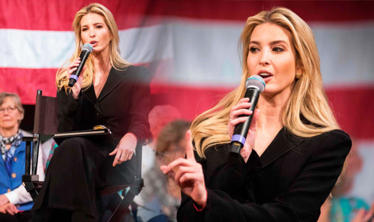 Ivanka Trump: Donald's daughter wears sexy suit with NOTHING underneath |  Style | Life & Style | Express.co.uk