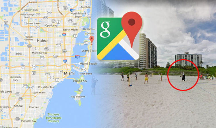 Google Maps Street View car spots nun on Miami Beach | Travel News ...