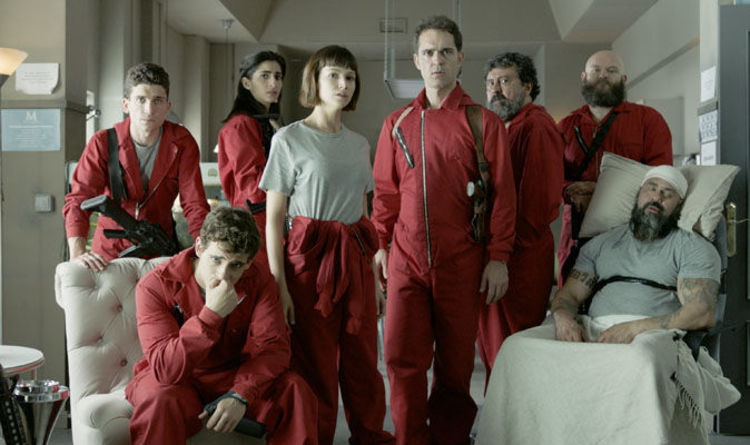 La Casa de Papel season 2 cast...