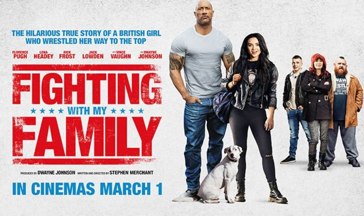 Image result for fighting with my family
