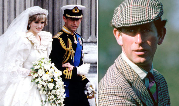 Prince Charles On His Wedding Day To Diana