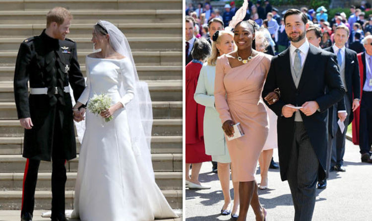 663437a2423 Royal wedding 2018  Serena Williams  advert threatened to UPSTAGE ...