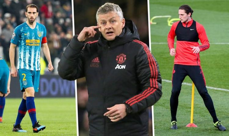 0de33d397ff Seven players Man Utd could sign in summer who are available for FREE – and  two bargains