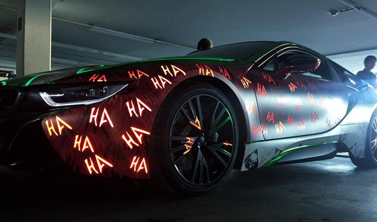 Wild Joker Bmw I8 Is Unlike Any Other Car On The Road