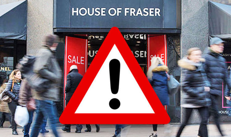 1a32eb57cf001 House of Fraser news  FULL LIST of stores set to close in the UK ...