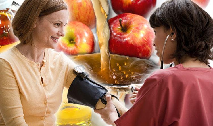 High blood pressure: Apple cider vinegar in your diet could lower  hypertension risk | Express.co.uk