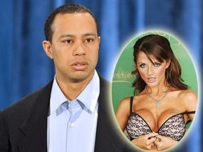 Tiger woods james porno pregnant