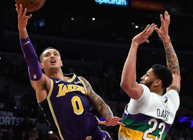 2788015c3e8 Lakers Rumors  Rob Pelinka Told Kyle Kuzma He Would Not Be Traded Unless  For  One Of The Game s Three Best Players
