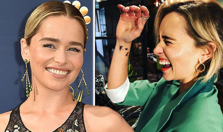 Emilia Clarke Instagram Game Of Thrones Star Shows Off Incredible