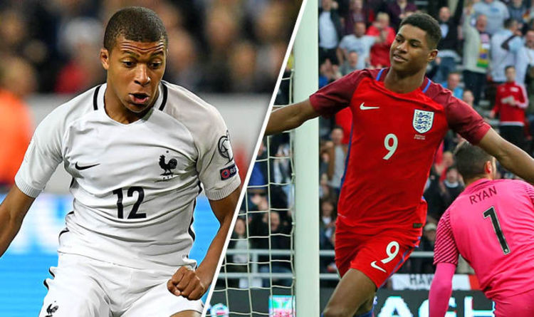 Kylian Mbappe and Marcus Rashford Exclusive  Teens to set world alight in  France v England 0b4341a80