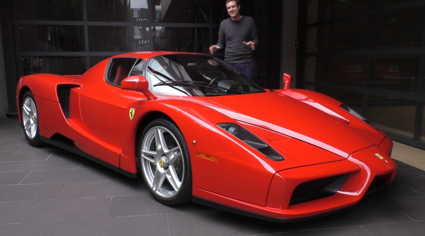 Up Close Tour Of A 3 Million Ferrari Enzo